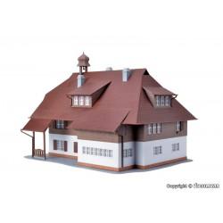 NOCH 07300 Flocage Feuillu Vert Moyen-Leafy Foliage, middle green 20x23cm