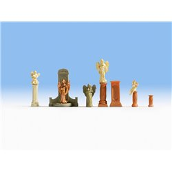 NOCH 14872 HO 1/87 Tomb Monuments and Statues