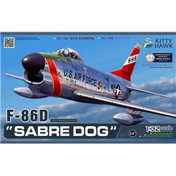 "Kitty Hawk KH32007 1/32 F-86D ""Sabre Dog"""