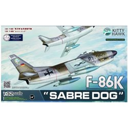 "Kitty Hawk KH32008 1/32 F-86K ""Sabre Dog"" Export Interceptor"