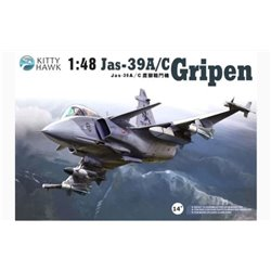 Kitty Hawk KH80117 1/48 Jas-39A/C Gripen