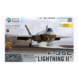 Kitty Hawk KH80132 1/48 F-35C Lightning II