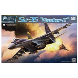 "Kitty Hawk KH80142 1/48 Sukhoi Su-35 ""Flanker-E"""