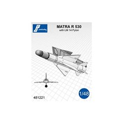 PJ Production 481221 1/48 MATRA R 530 avec pylône LM 14