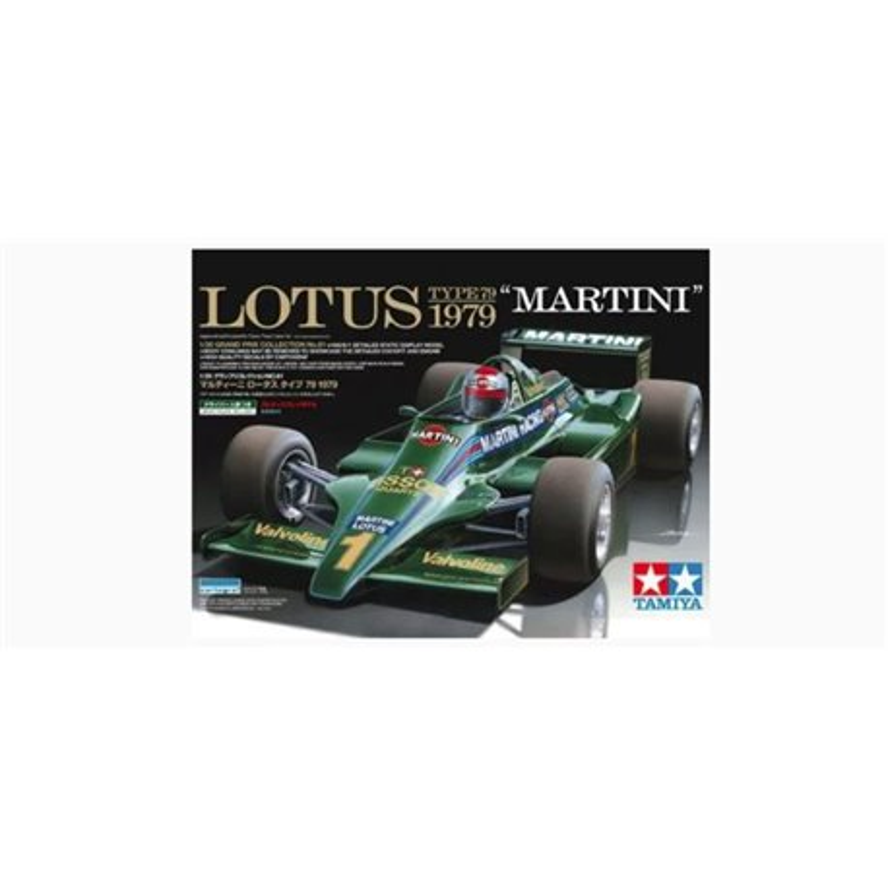 "Tamiya 20061 1/20 ""Martini"" Lotus 79 Ford 1979"