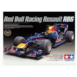 Tamiya 20067 1/20 Red Bull Racing Renault RB6 2010