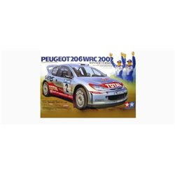 Tamiya 24262 1/24 Peugeot 206 WRC 2002 Winner Version