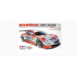 Tamiya 24293 1/24 Open Interface Toms's SC430 2006