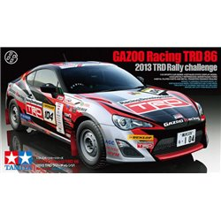 Tamiya 24337 1/24 Gazoo Racing TRD 86 (2013 TRD Rally Challenges)