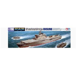 TAMIYA 31003 1/700 JMSDF Defense Ship LST-4001 Ohsum