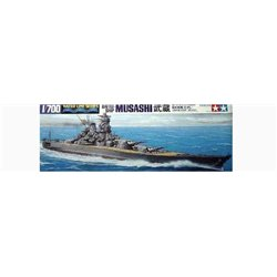 TAMIYA 31114 1/700 Battleship Musashi Waterline Series
