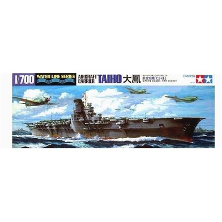 Tamiya 31211 1/700 Japanese Aircraft Carrier Taiho Waterline Series