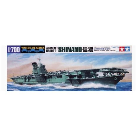 Tamiya 31215 1/700 Japanese Aircraft Carrier Shinano Water Line Series