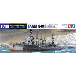 Tamiya 31317 1/700 Japanese Light Cruiser Tama Waterline Series