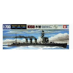 Tamiya 31318 1/700 Japanese Light Cruiser Kiso Waterline Series