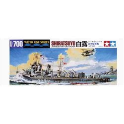Tamiya 31402 1/700 Japanese Navy Destroyer Shiratsuyu Water Line Series