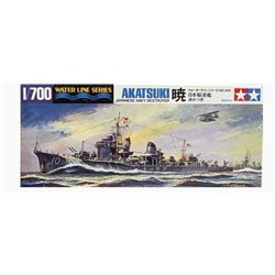 TAMIYA 31406 1/700 Japanese Navy Destroyer Akatsuki Waterline Series