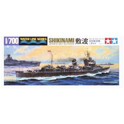 Tamiya 31408 1/700 Japanese Navy Destroyer Shikinami