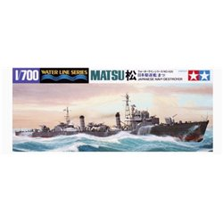 Tamiya 31428 1/700 Japanese Navy Destroyer Matsu Waterline Series