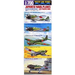 TAMIYA 31516 1/700 Water Line Series Japanese Naval Planes (Late Pacific War)