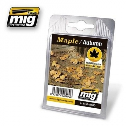 AMMO OF MIG A.MIG-8400 LEAVES MAPLE – AUTUMN - Feuilles Erable Automne