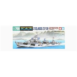 "Tamiya 31908 1/700 ""Project Barbara"" German Destroyer Z Class (37-39)"