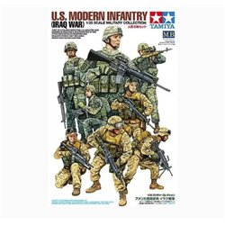 TAMIYA 32406 1/35 U.S. Modern Infantry (Iraq War)