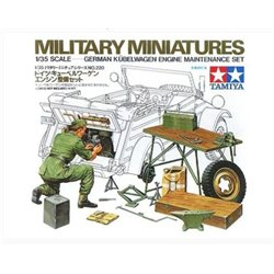 TAMIYA 35220 1/35 German Kübelwagen Engine Maintenance Set