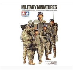 TAMIYA 35276 1/35 JGSDF Iraq humanitarian assistance team
