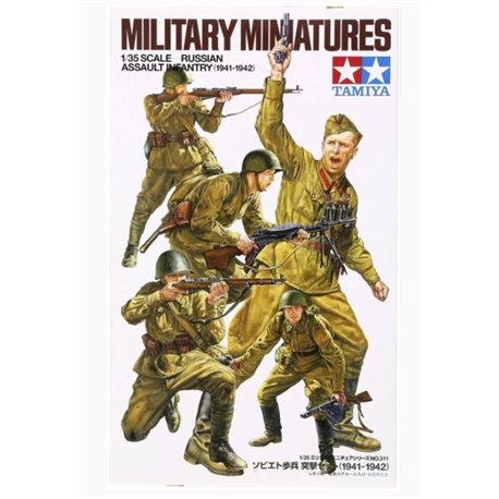 Tamiya 35311 1/35 Russian Assault Infantry 1941-1942