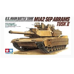 Tamiya 35326 1/35 U.S. MAIN BATTLE TANK M1A2 SEP Abrams TUSK II