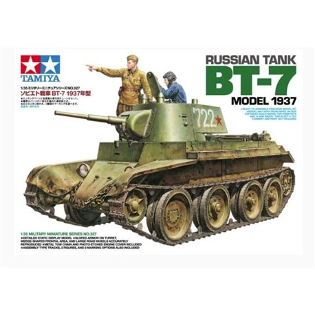 Tamiya 35327 1/35 Russian Tank BT-7 Model 1937