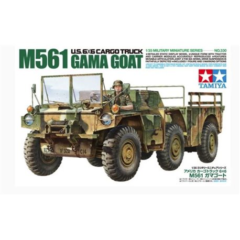 Tamiya 35330 1/35 U.S. 6X6 CARGO TRUCK M561 GAMA GOAT