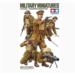 TAMIYA 35339 1/35 WWI British Infantry Set