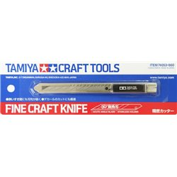 Tamiya 74053 Cutter Fin - Fine Craft Knife