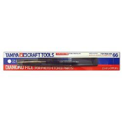 Tamiya 74066 Lime Diamanté - Diamond File (For Photo-Etched Parts)