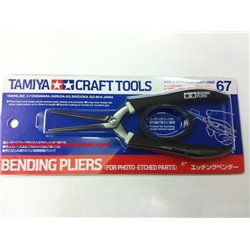 Tamiya 74067 Pince à Plier - Bending Pliers (for photo-etched parts)