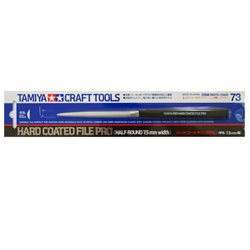 Tamiya 74073 Lime demie ronde - Hard-Coated File PRO 7.5mm