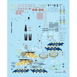 HUMBROL Peinture Enamel 253 RLM 83 Dunkel-Grun Matt - 14ml Enamel Paint
