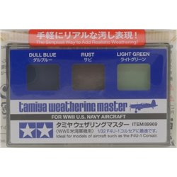 Tamiya 89969 Weathering Master Set For WWII US Navy Aircraft