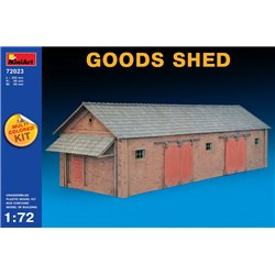 Miniart 72023 1/72 GOODS SHED