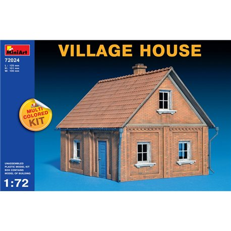 Miniart 72024 1/72 VILLAGE HOUSE