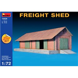 Miniart 72029 1/72 FREIGHT SHED