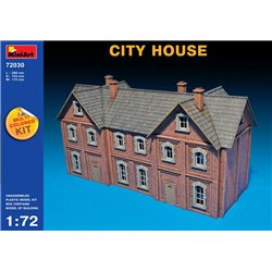 Miniart 72030 1/72 CITY HOUSE