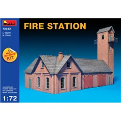 Miniart 72032 1/72 FIRE STATION