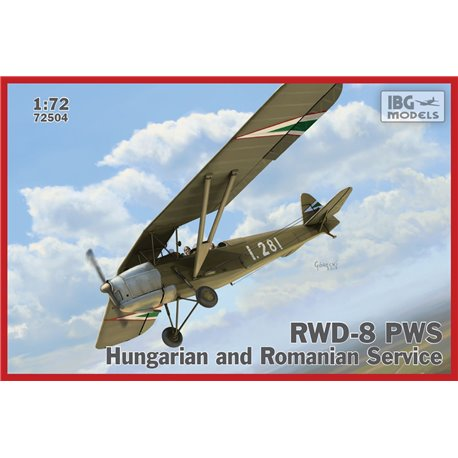IBG Models 72504 1/72 RWD-8 PWS Hungarian and Romanian Service