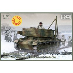 IBG Models 72059 1/72 Bergepanzer III Easy Assembly Kit
