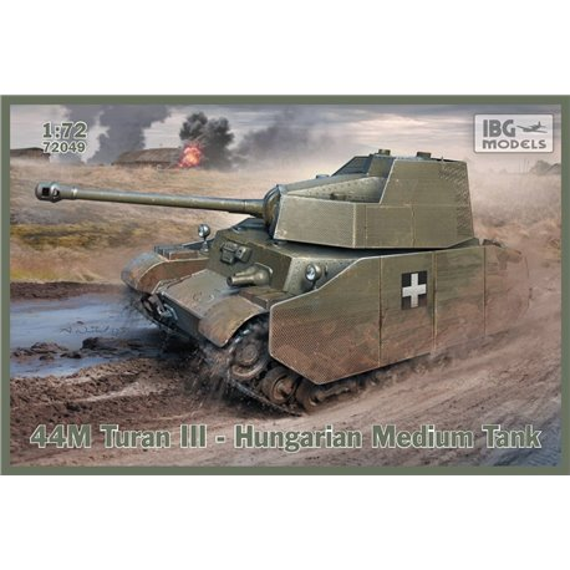 IBG Models 72049 1/72 44M Turan III – Hugarian Medium Tank