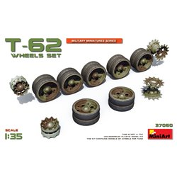 Miniart 37060 1/35 T-62 Wheels Set