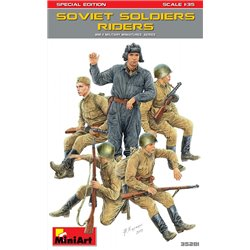 Miniart 35281 1/35 Soviet Soldiers Riders Special Edition